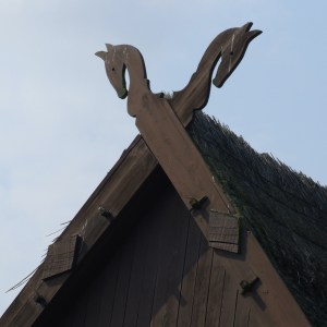 Divine Twins, Gables with crossed horse heads in Germany connected to Hengist and Horsa