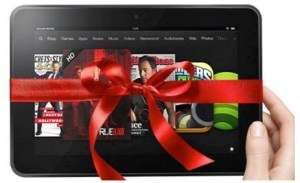 Kindle with Bow
