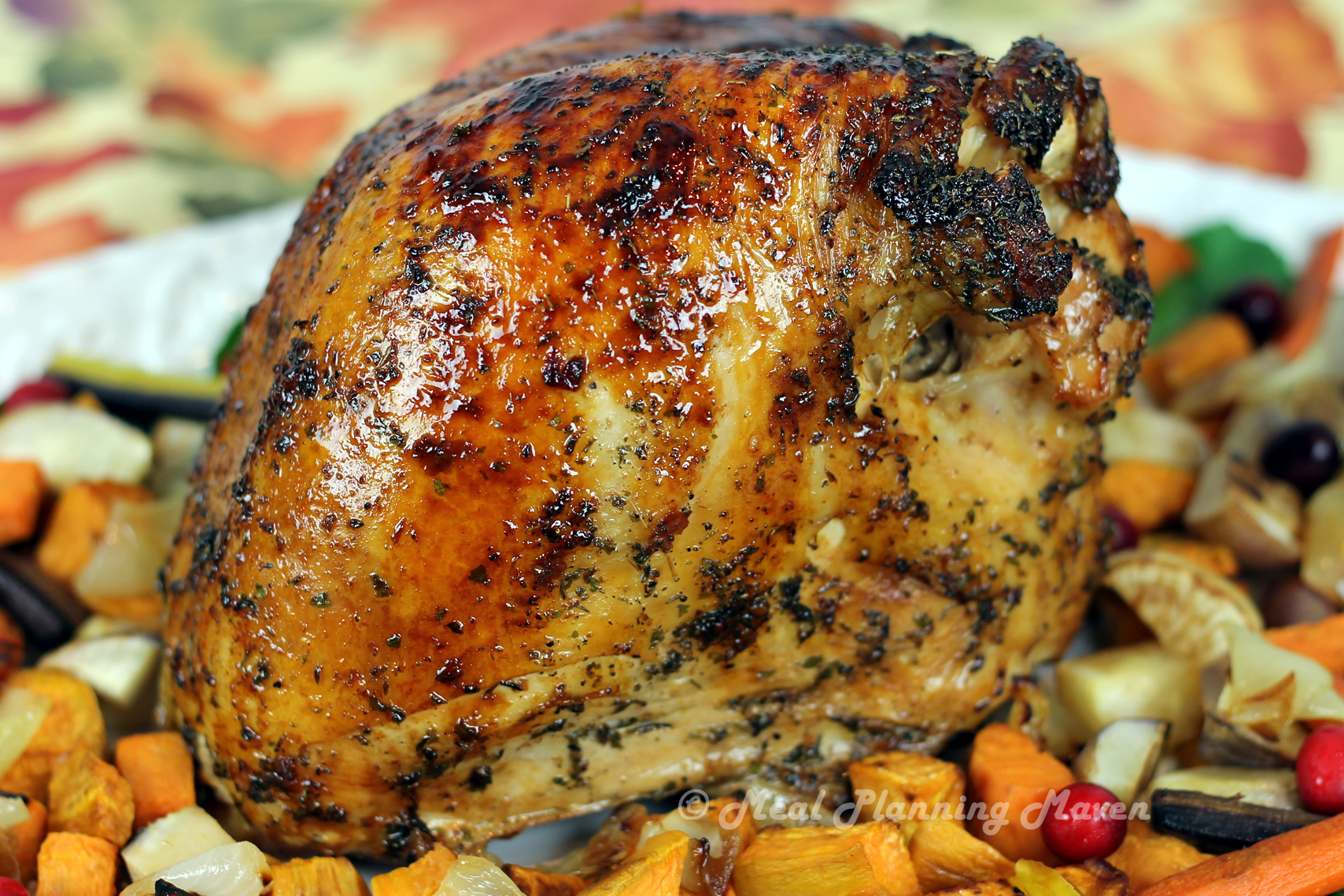 Maple-Orange Glazed Turkey Breast