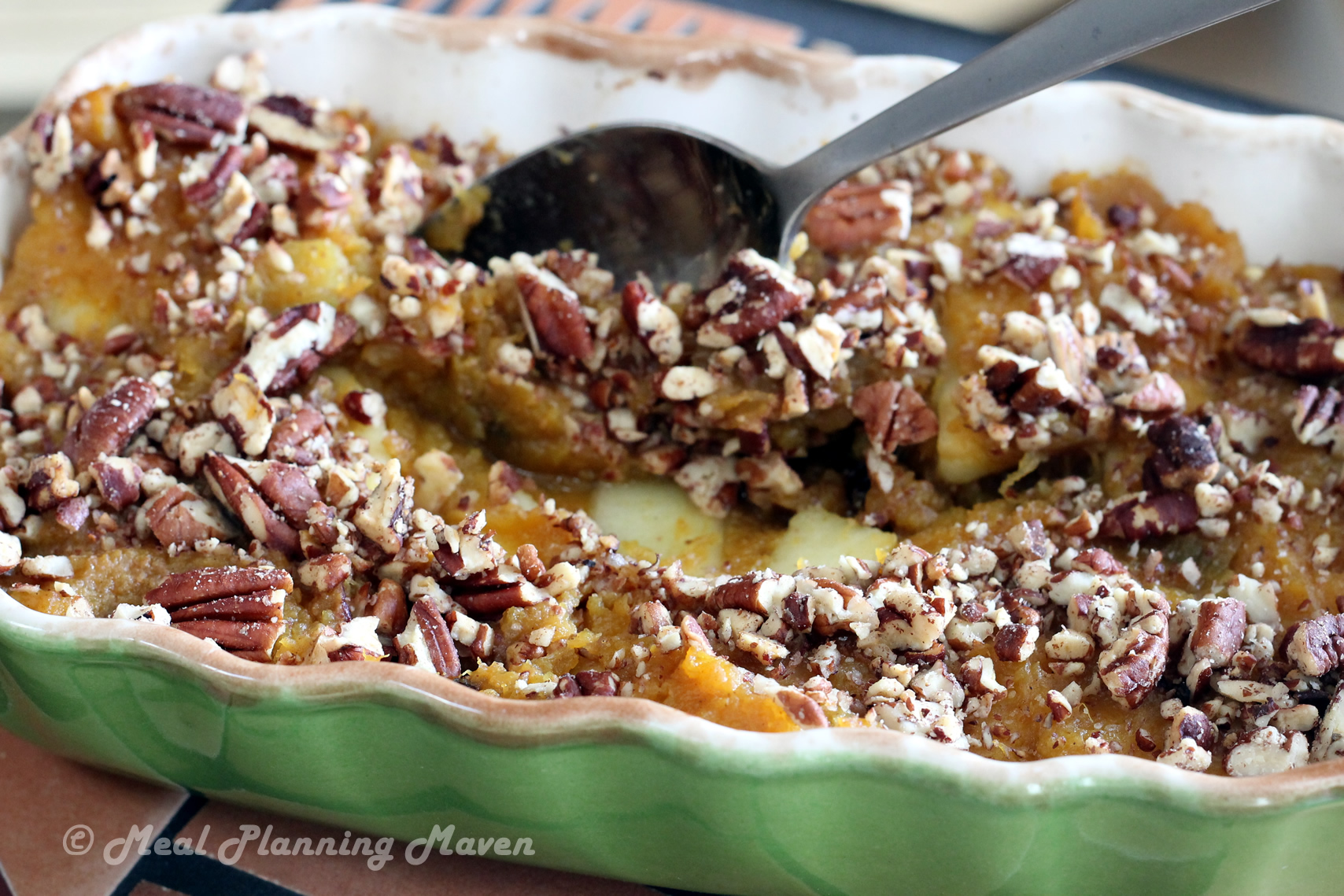 Crunchy Butternut Squash 'n Apple Bake