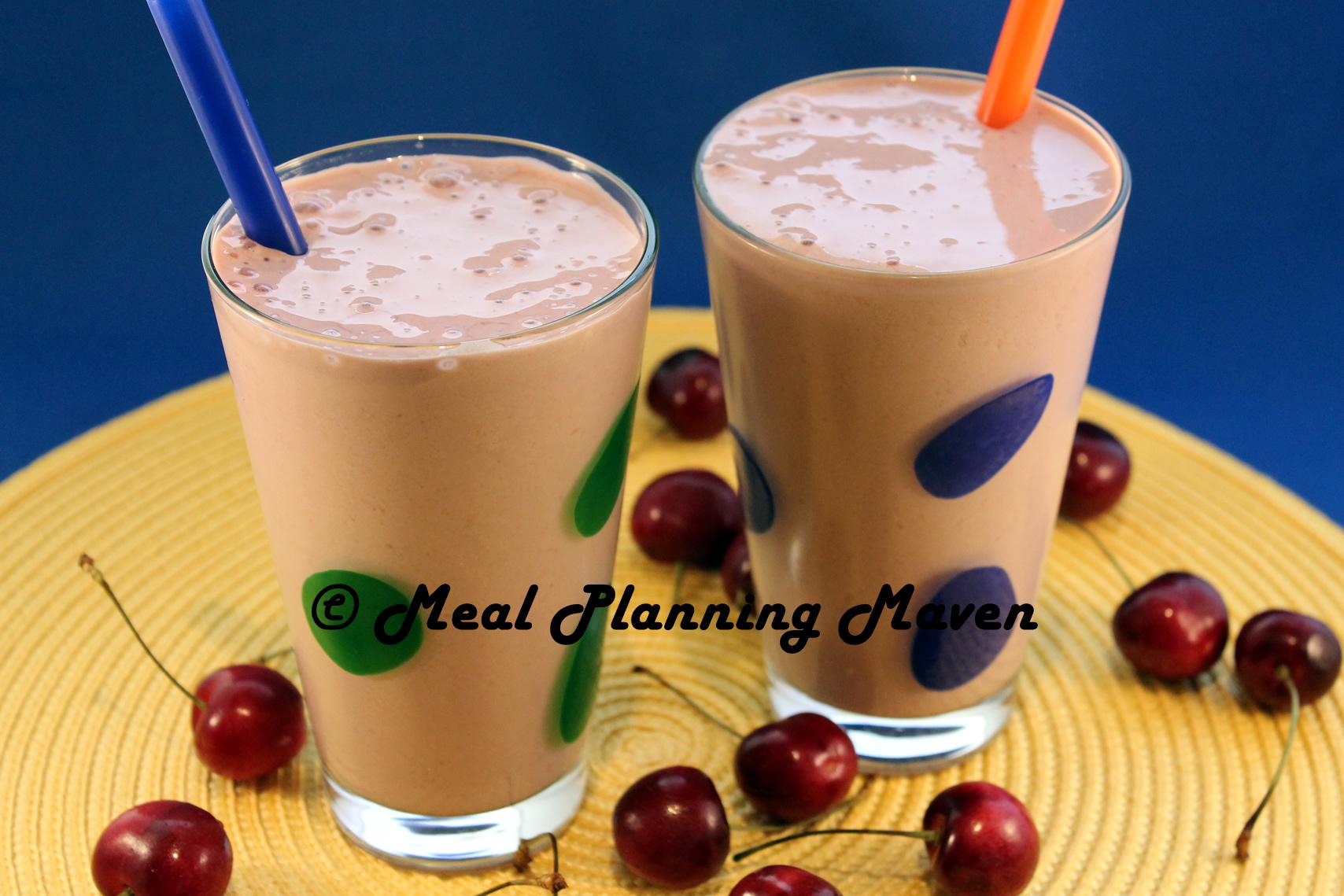 Cocoa-Cherry Truffle Smoothie