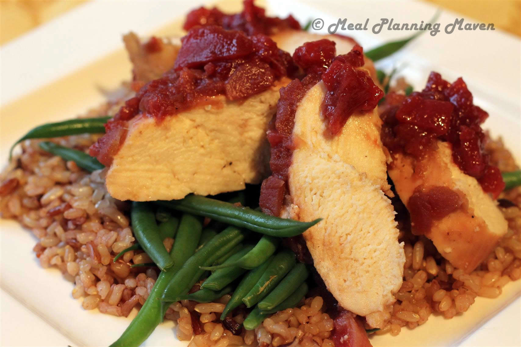 Cranberry Chutney Chicken
