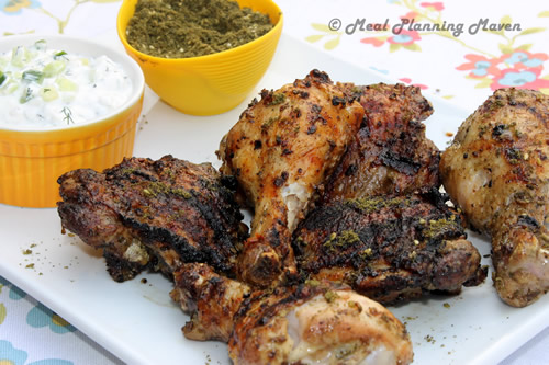 Grilled Za'atar Chicken with Tzatziki