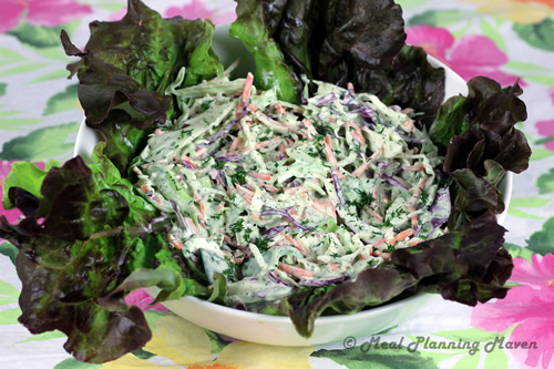 Herbed Buttermilk Cole Slaw