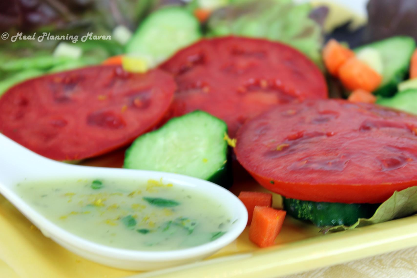 Orange-Basil Vinaigrette
