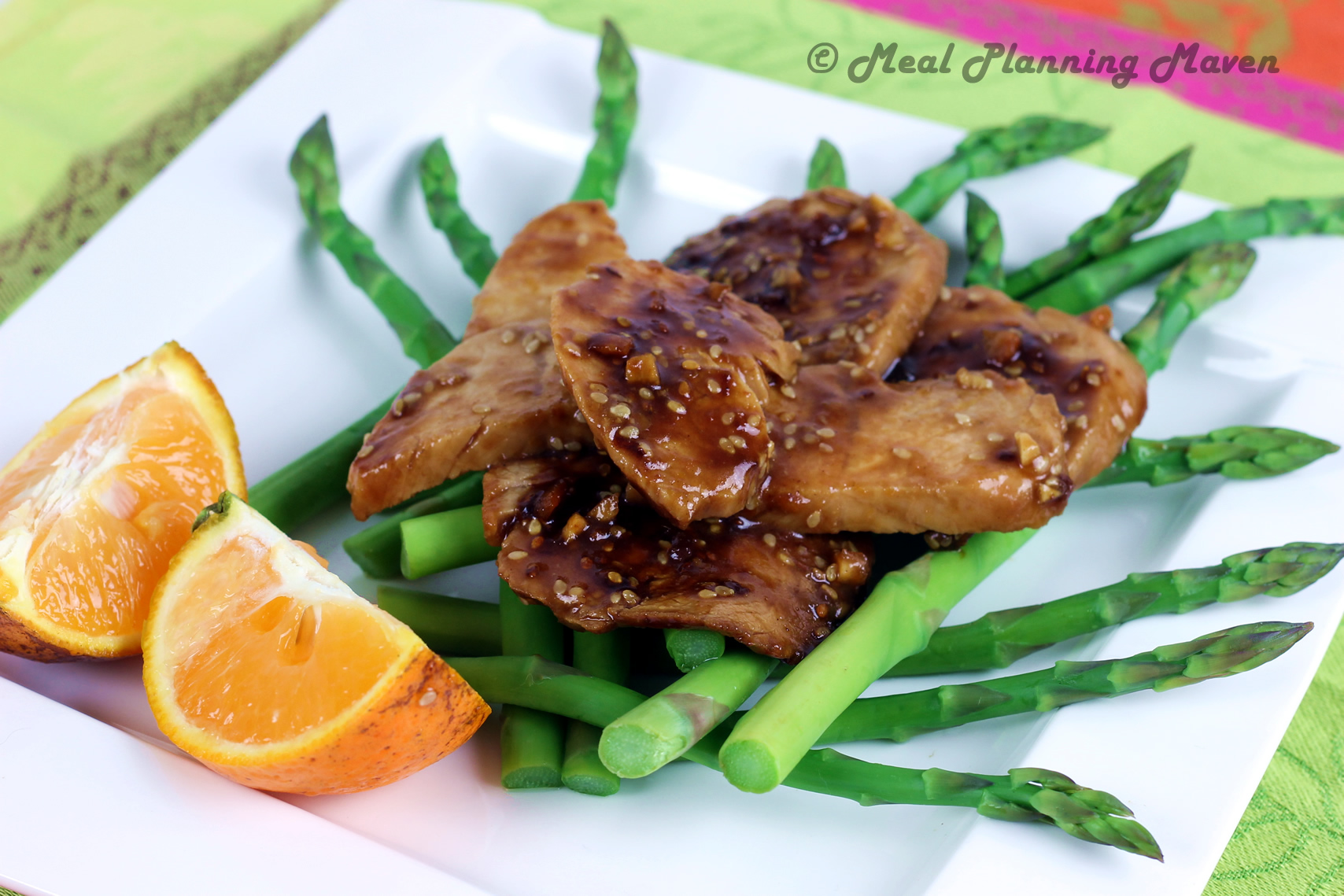 Orange-Sesame Turkey Tenderloins
