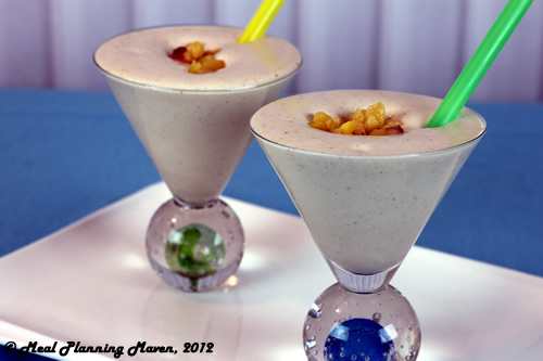 Peachy Almond Surprise Smoothie