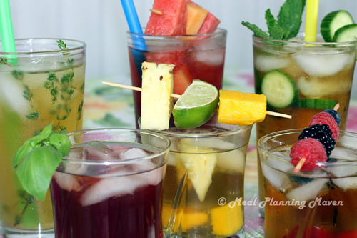Summery Iced Teas with a Twist