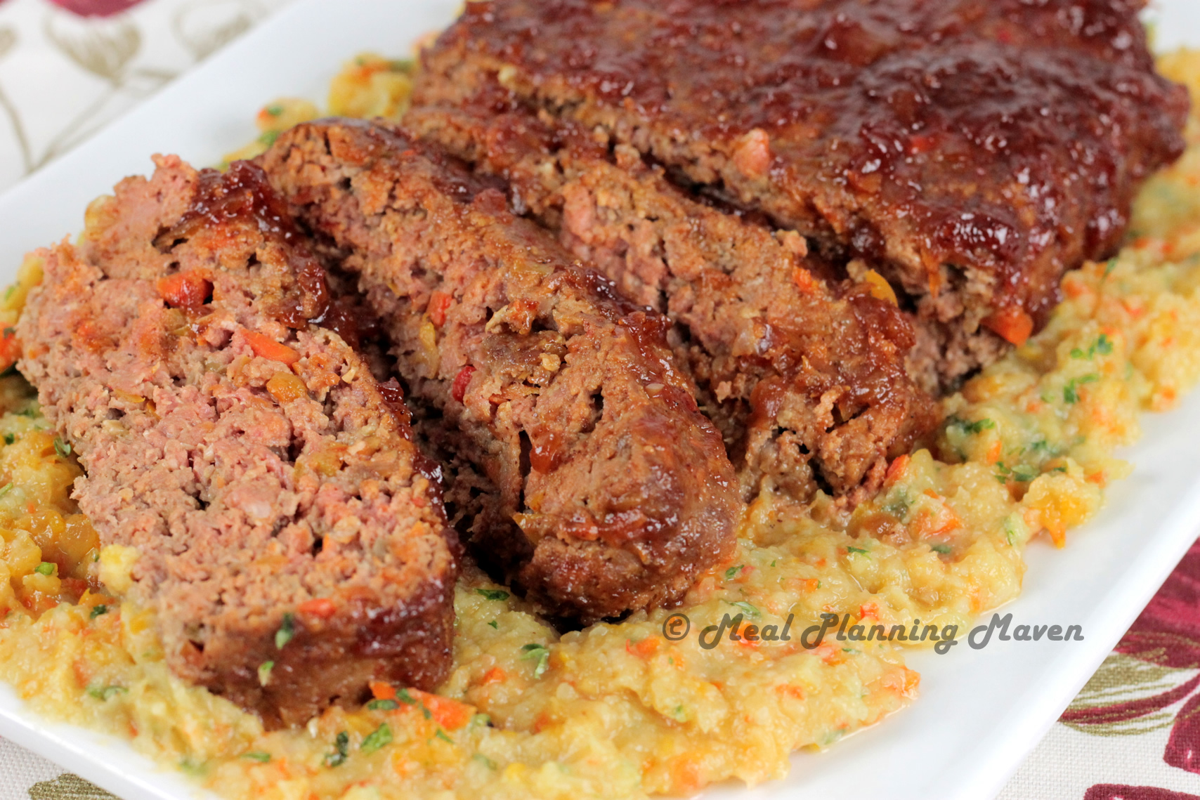 Sweet 'n Tangy BBQ Meatloaf