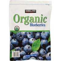 Kirkland organic blueberries - paleo foods at Costco