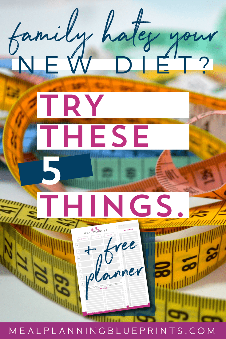 Great tips for when you're doing a diet all by yourself! + free healthy meal planner and tracker! #mealplanning #healthyliving #goals2018 #freemealplanner