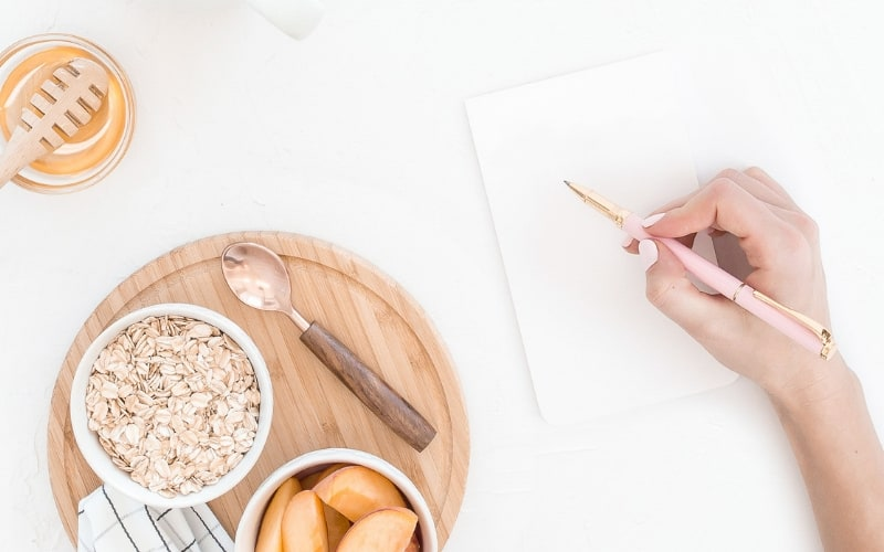 Super Simple Grocery List for Two Weeks (free template