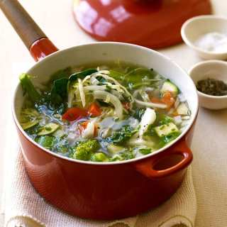 Fresh Vegetable Soup- 1 WW Points+ Value!