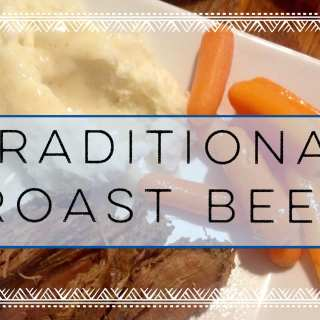 Traditional Pot Roast with Carrots and Potatoes