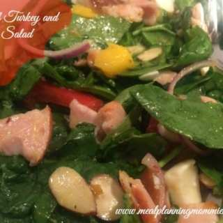 Tropical Turkey and Spinach Salad