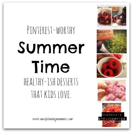 5 healthy-ish dessert ideas kids will love