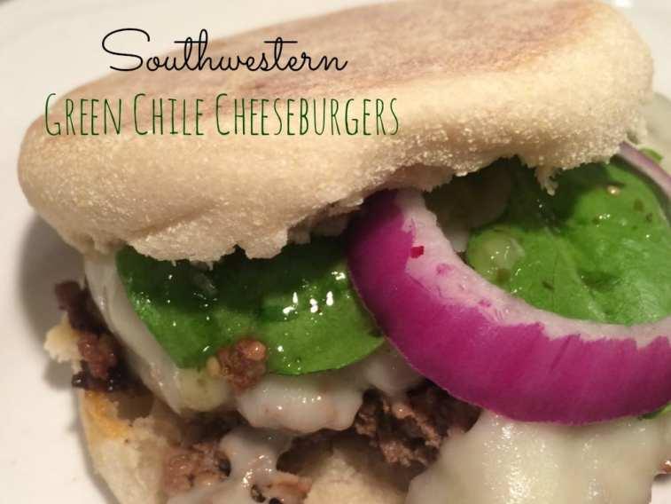 Southwestern Green Chili Cheeseburgers 2