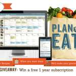 """Plan to Eat"" Review and Giveaway!"