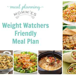 Free Weight Watcher Friendly Meal Plan with Grocery List #13