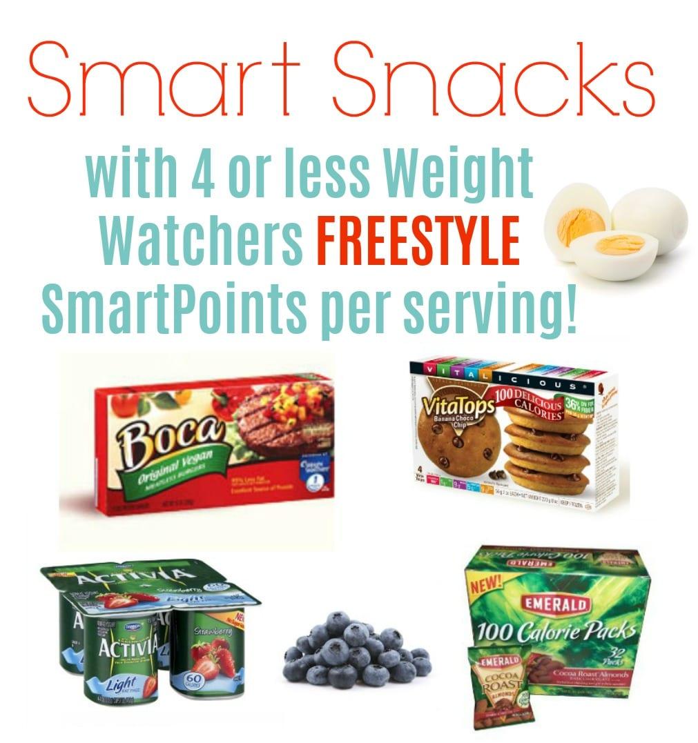 Weight Watchers Freestyle Smart Snacks with WW SmartPoints