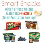 Weight Watchers Freestyle Smart Snacks with WW SmartPoints