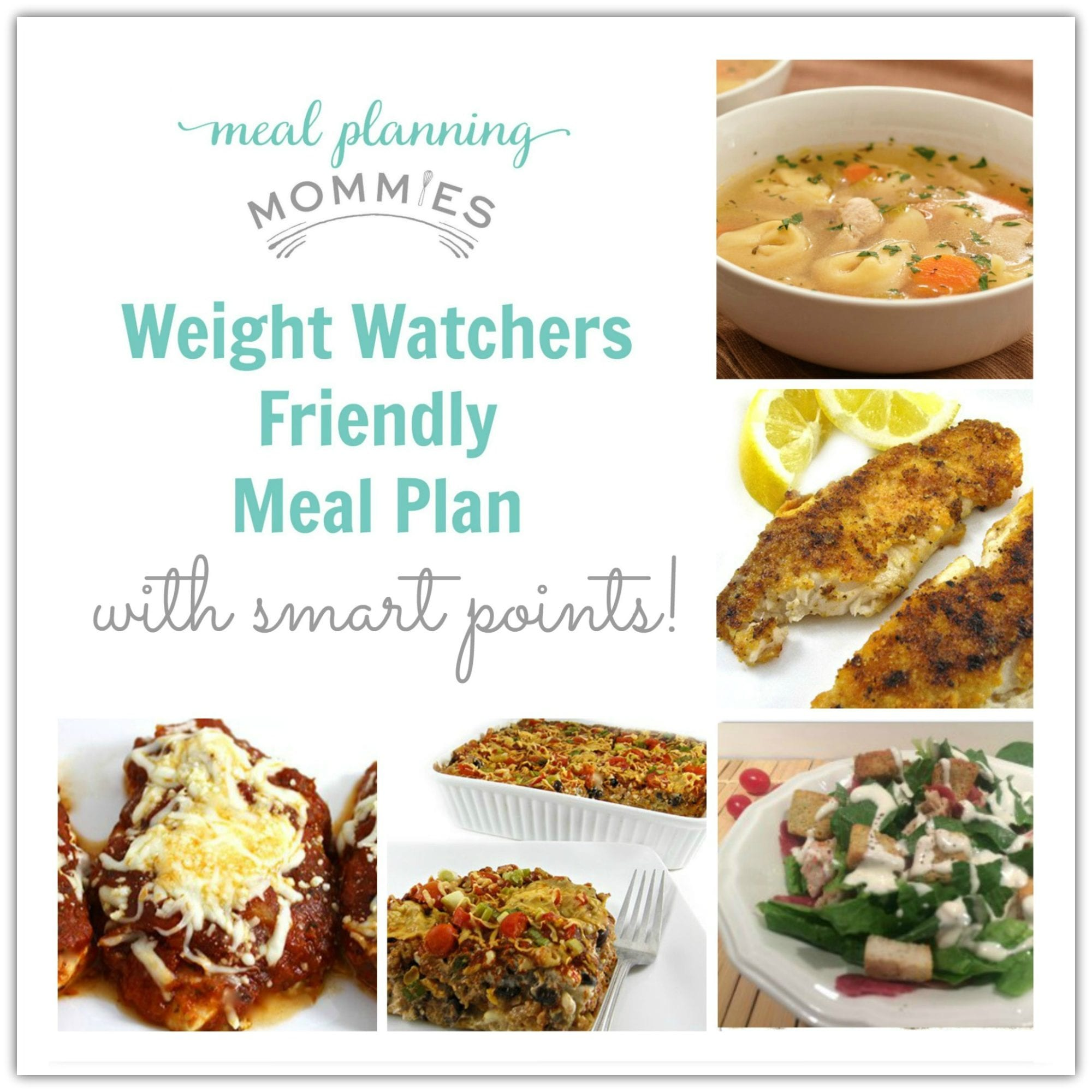 Weight Watcher Friendly Meal Plan with Smart Points #2 - Meal ...