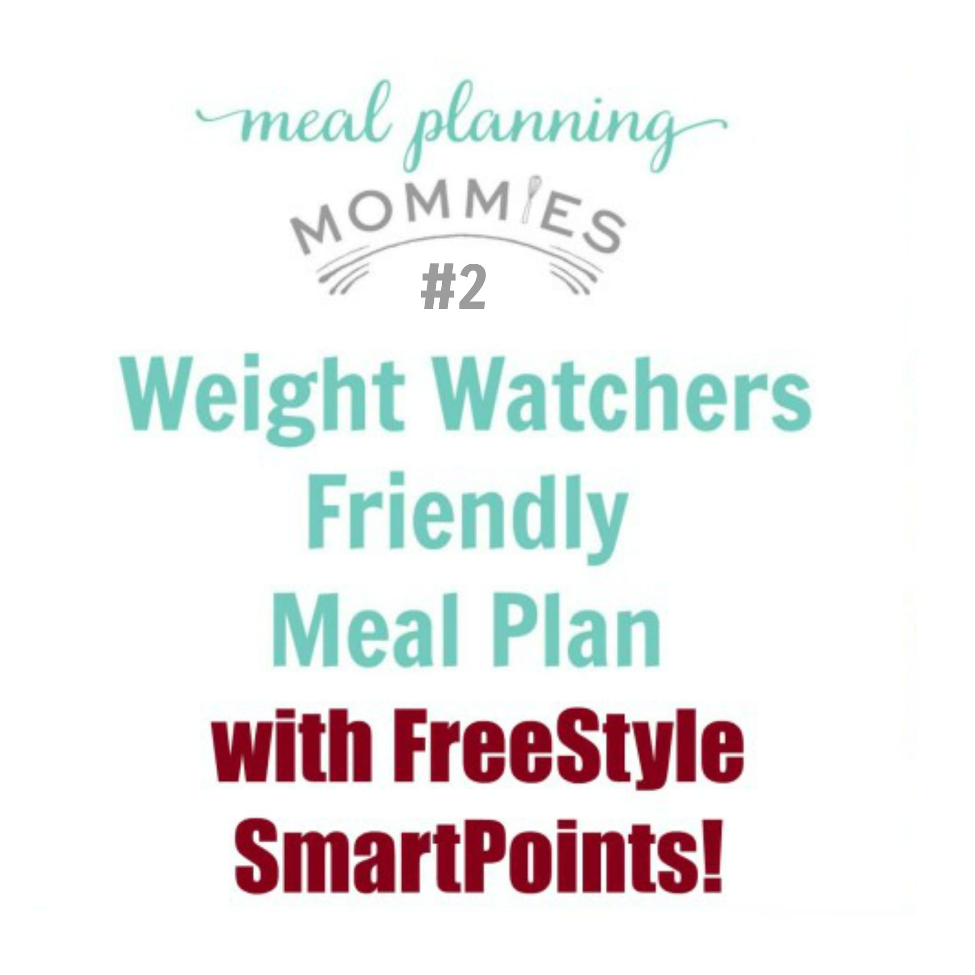 Weight watcher friendly meal plan 2 with freestyle smart points quick update this meal plan has been updated with the ww freestyle smart points per serving but the website these recipes are on has not updated the nvjuhfo Images