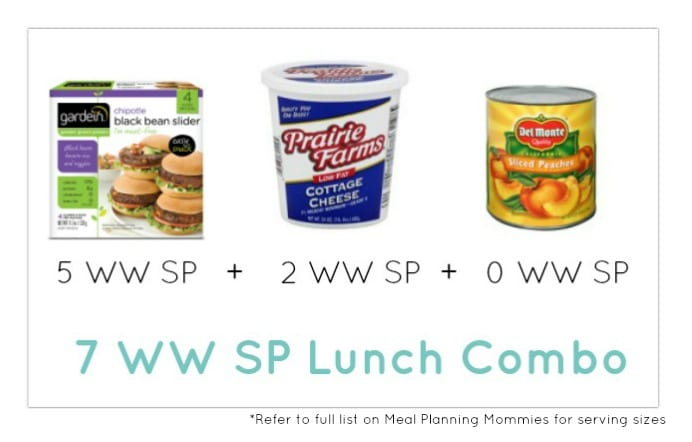 Weight Watcher Lunch Combo 10 - Meal Planning Mommies