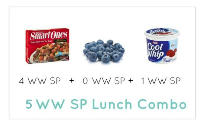 Weight Watcher Lunch Combo 15 - Meal Planning Mommies