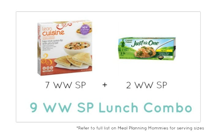 Weight Watcher Lunch Combo 24 - Meal Planning Mommies