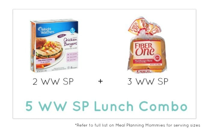 Weight Watcher Lunch Combo 9 - Meal Planning Mommies