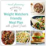 Weight Watcher Meal Plan with Smart Points #11 with old Smart Points