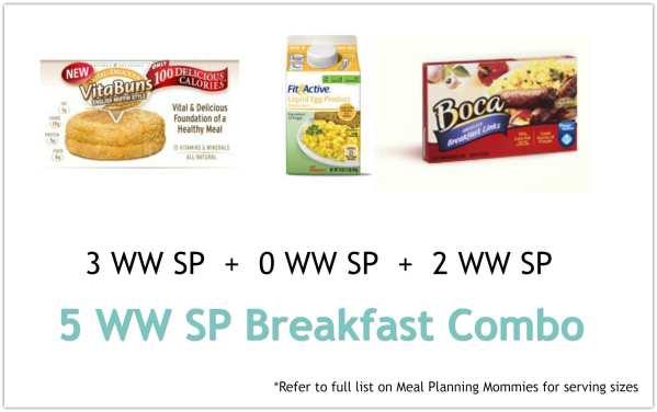 Breakfast combo 1