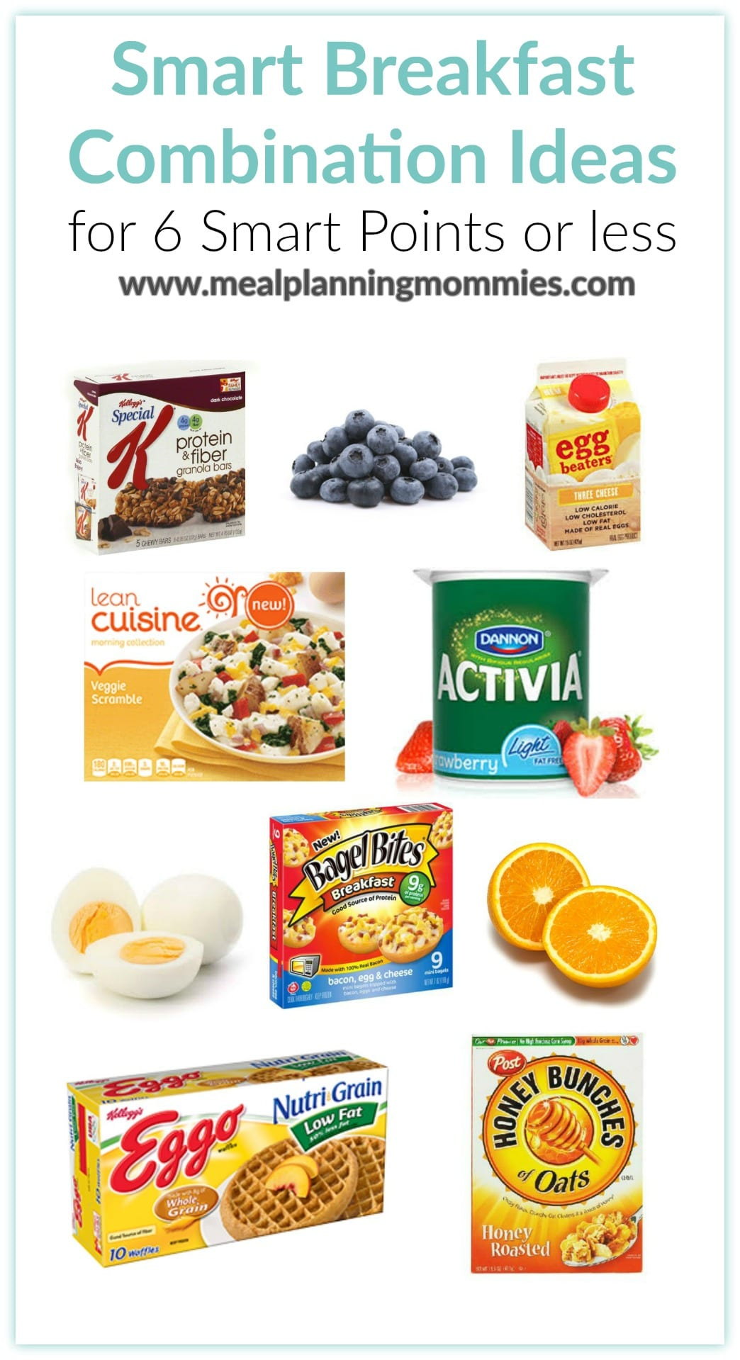 Smart Breakfast Combination Ideas For 6 Points Of Less Meal Planning Mommies