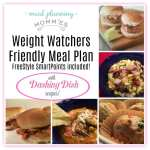 Dashing Dish Weight Watcher Friendly Meal Plan with FreeStyle Smart Points