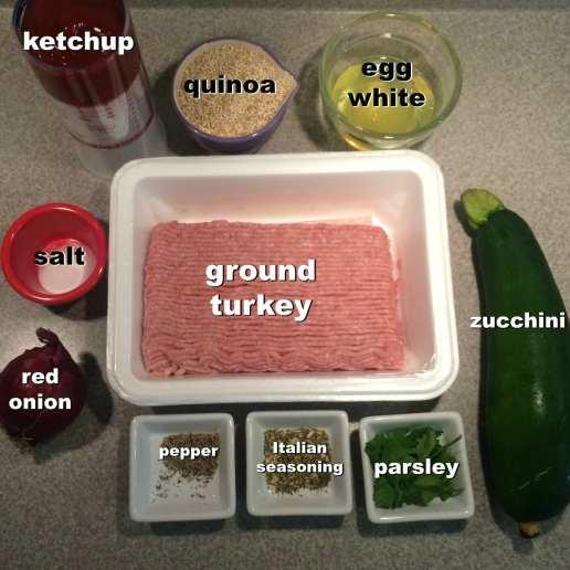 ingredients for meatloaf