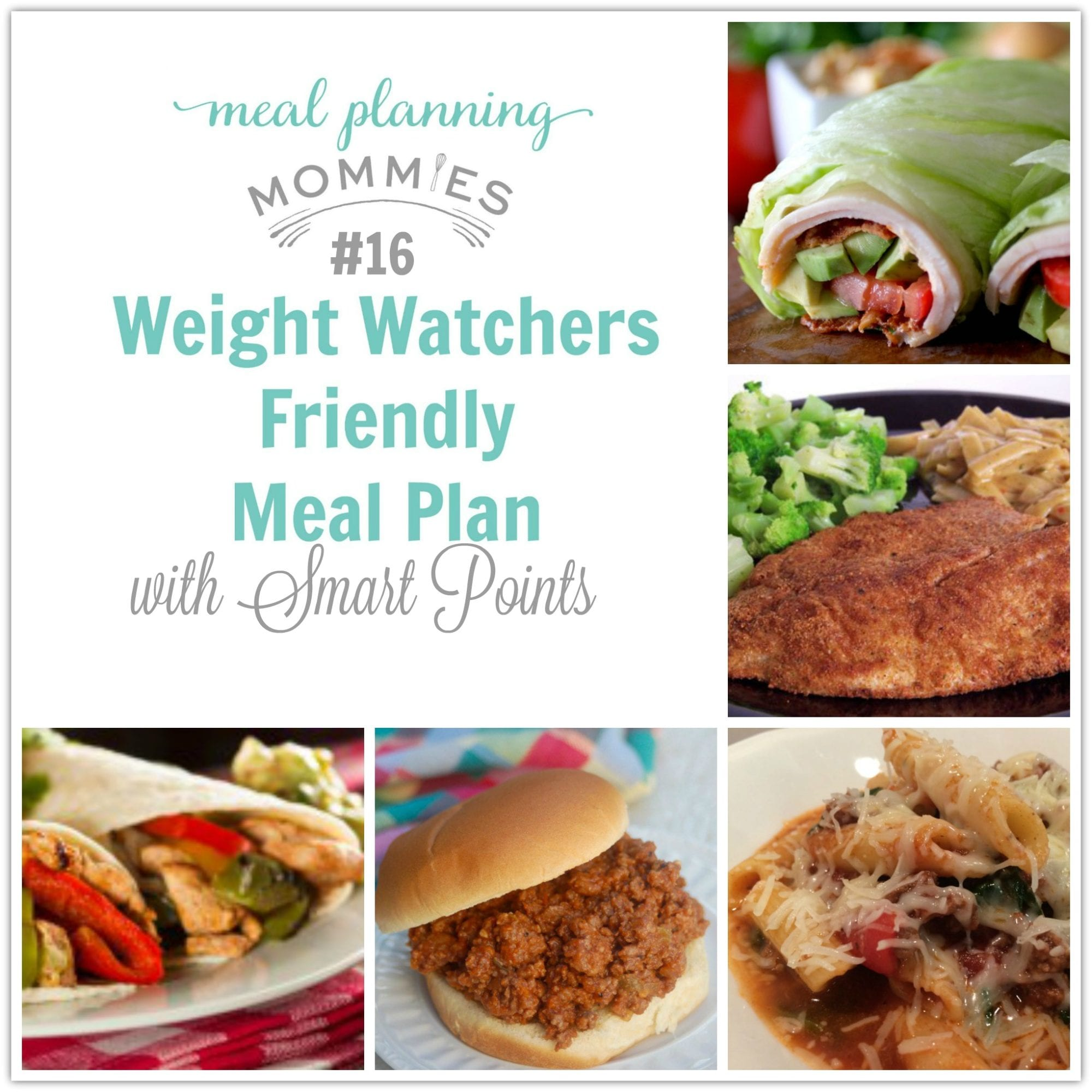 Weight Watcher Friendly Meal Plans Archives - Meal Planning Mommies