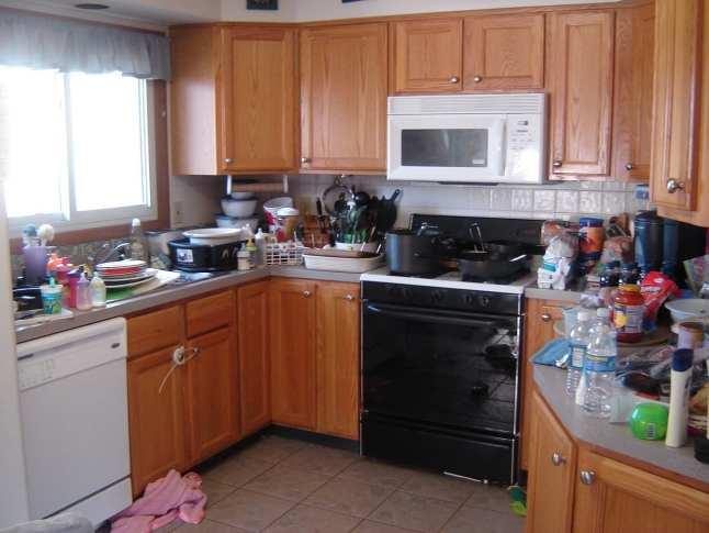 dirty kitchen