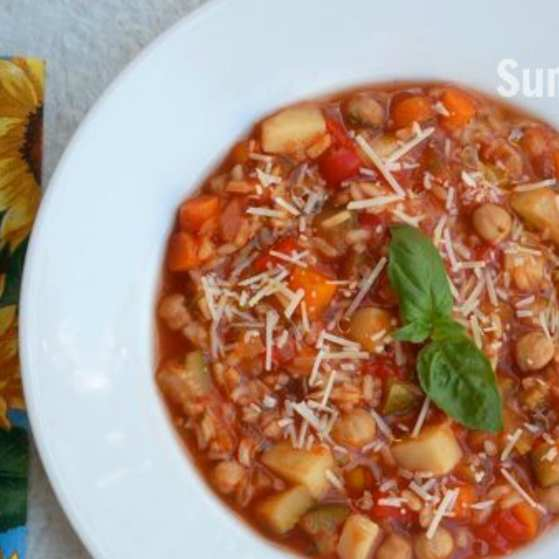 Summer Vegetable Soup: Weight Watcher Meal Plan With Smart Points #17