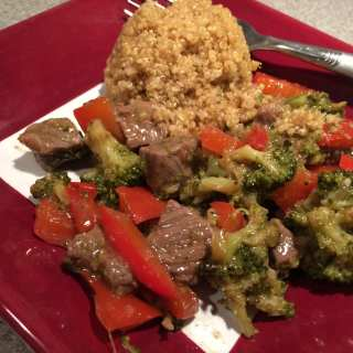 Beef and Broccoli Stir Fry with Quinoa