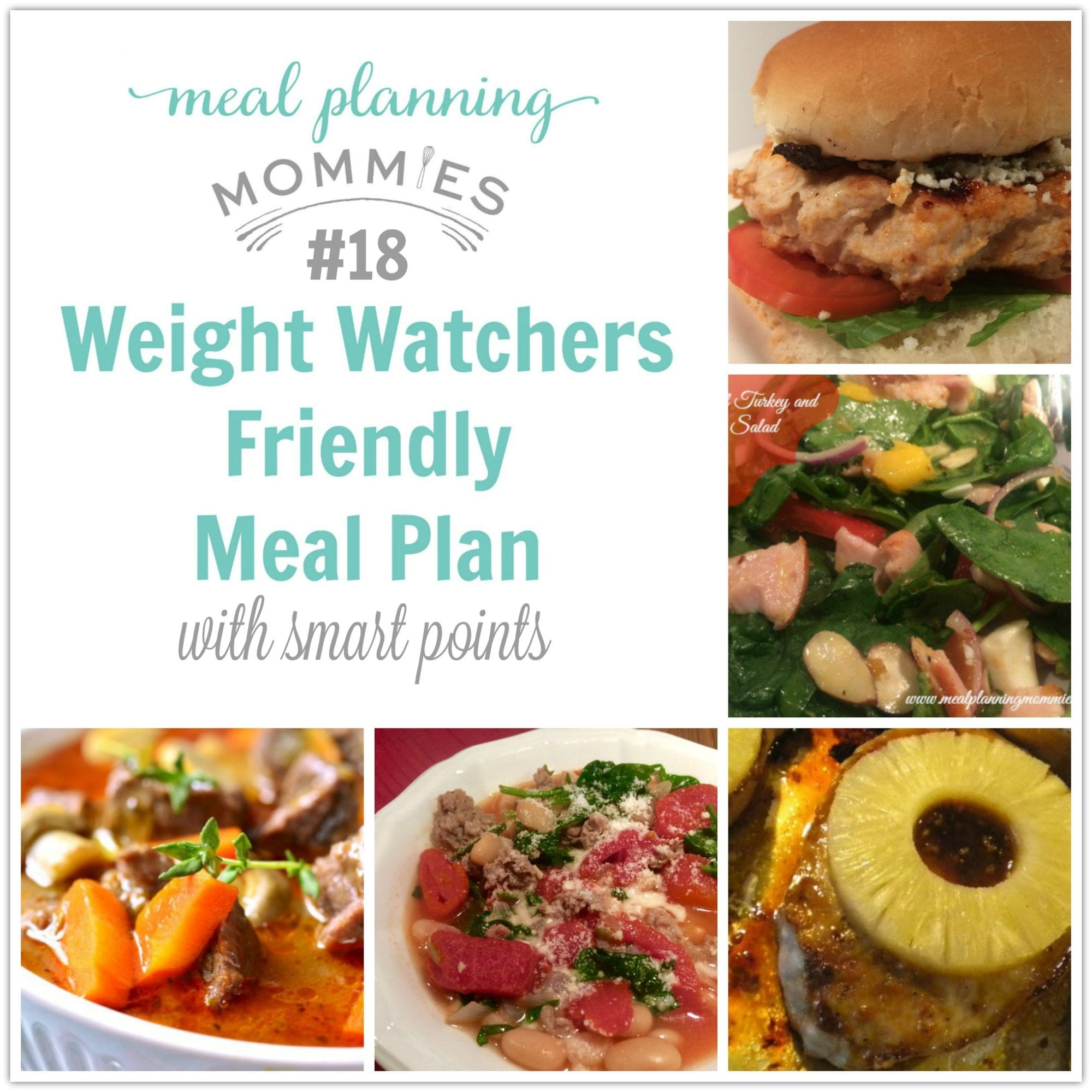 Weight Watcher Meal Plan 18 With Freestyle Smart Points