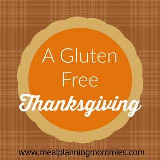 A Gluten Free Thanksgiving Menu