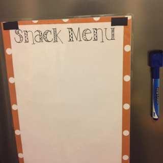 Snack Time Sanity Saver