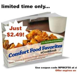 Get the Comfort Food Favorites eCookbook for just $2.49!
