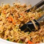 Crunchy Asian Chicken Coleslaw