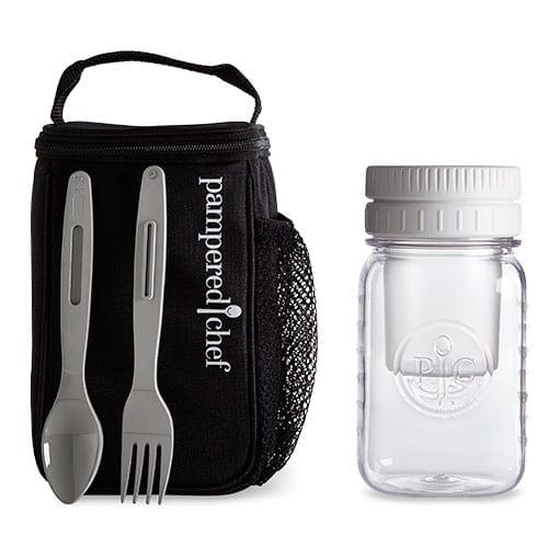 Pampered Chef Make and Take Mason jar set