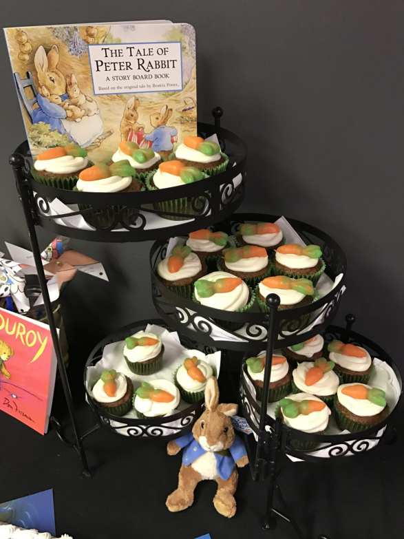 snack idea to go with The Tale of Peter Rabbit book