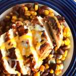 Southwest Chipotle Blackened Chicken & Beans