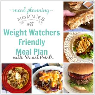 Weight Watchers Friendly Meal Plan with Smart Points #27