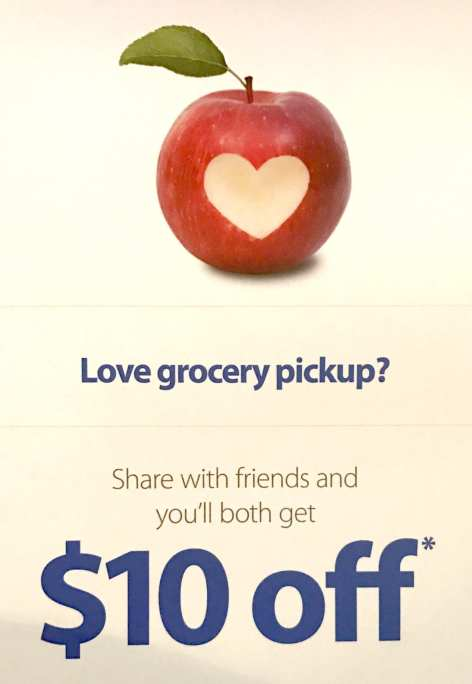 Use my referral code to get $10 off of your groceries